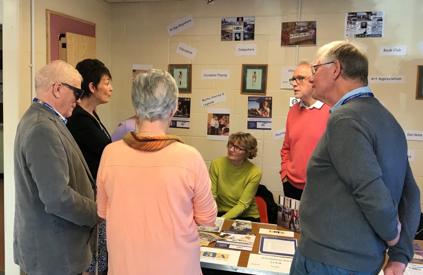 Jo Churchill MP hosts older persons information fair
