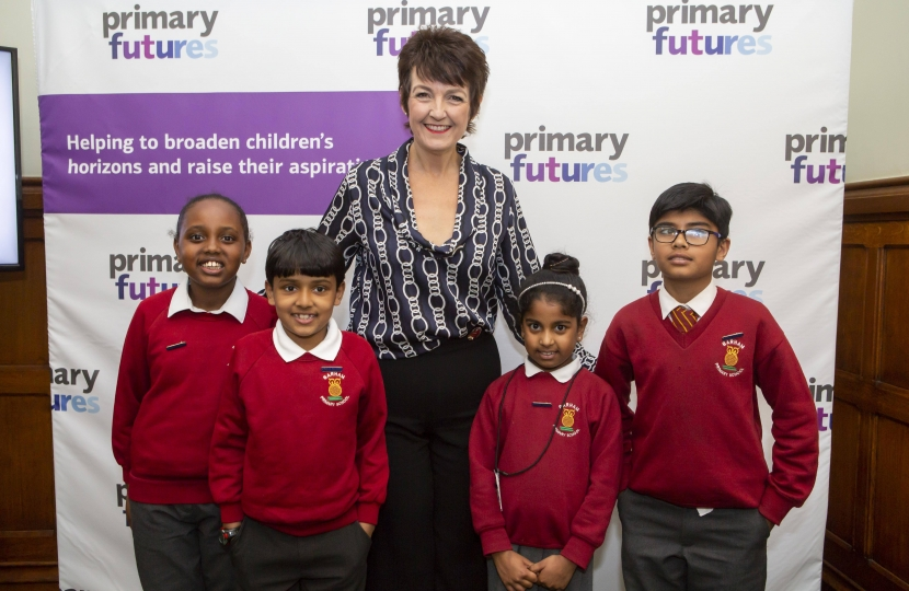Jo Churchill MP primary futures parliamentary champion programme