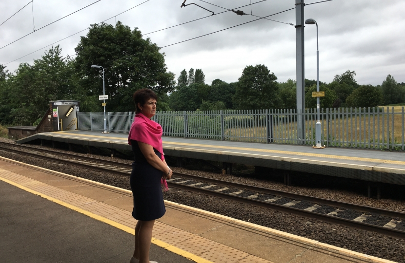Jo continues to seek Access for All for Needham Market Station