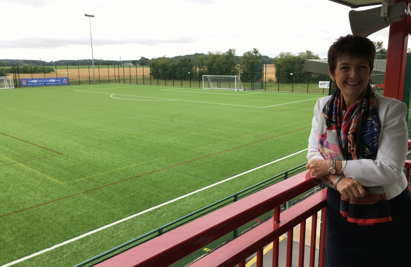 Jo at Needham Market FC